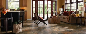 Luxury Vinyl and plank are relatively new hard surface flooring choices