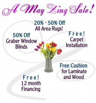 May flooring sale %area rugs, blinds and free 12 month financing-West Allis, WI