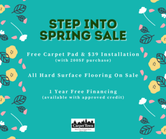 Step Into Spring Sale