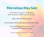 Marvelous May Sale