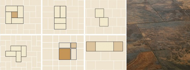 Pattern Layouts of LVT