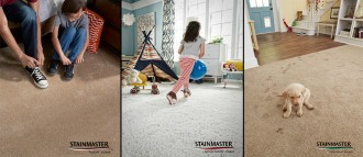 Stainmaster Pet Protect, TruSoft and Active Family Carpeting