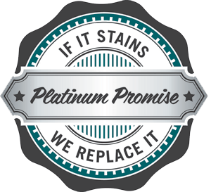 Platinum Promise - if it stains we replace it - Stainmaster