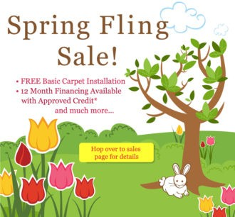 Details on sales page - Free installation, padding, financing and % off available