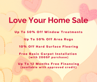 Love Your Home Sale - Carpet Town