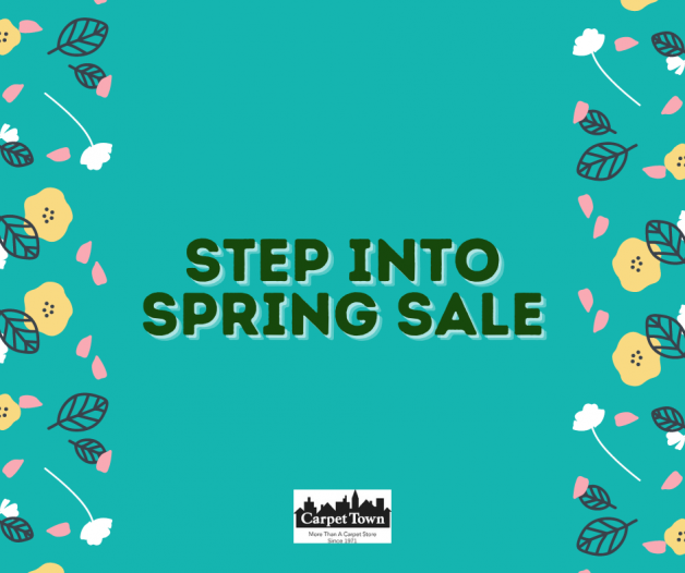 Carpet Town's Step Into Spring Sale